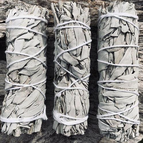 White Californian Sage Smudge Stick
