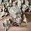 Thumbnail: Glass Bottle Skull with Crystal Chips (Smoky Quartz, Lapis Lazuli, Citrine)