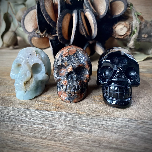3 Small Skull Bundle Pack- Pack 1