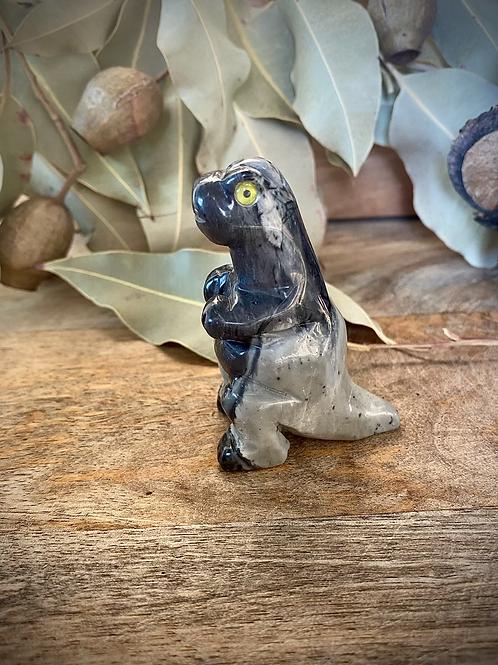 Picasso Jasper Dinosaur