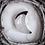 Thumbnail: Agate Crescent Moon Bowl