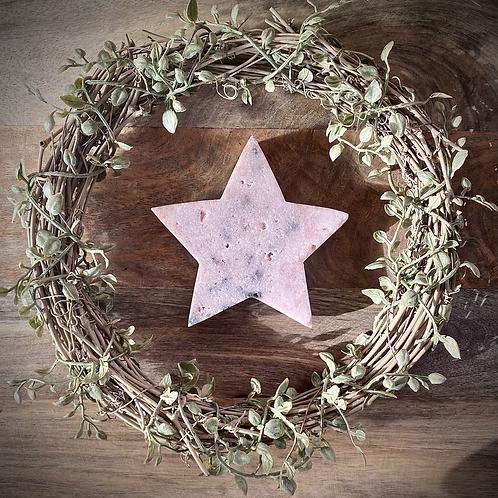 Pink Amethyst Star Slab