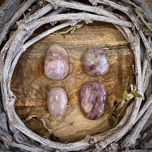 Lavender Rose Quartz Palms