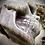 Thumbnail: Large Labradorite Purple Skull (1.8kg)