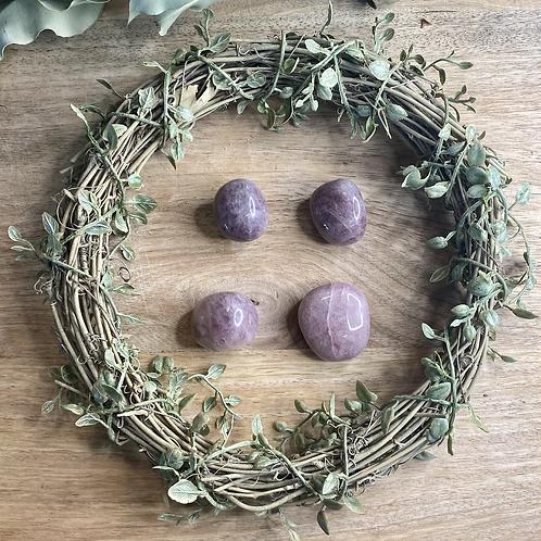 Lavender Rose Quartz Tumbles (Intuitively Chosen)
