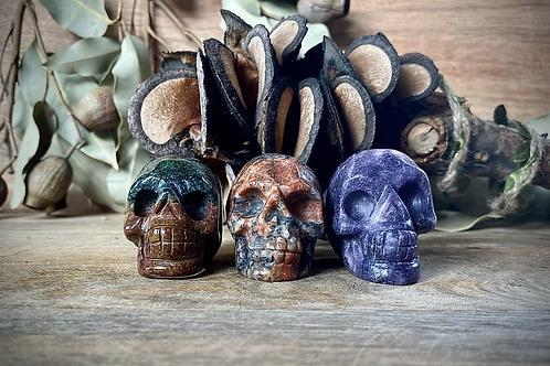 3 Small Skull Bundle Pack- Pack 2