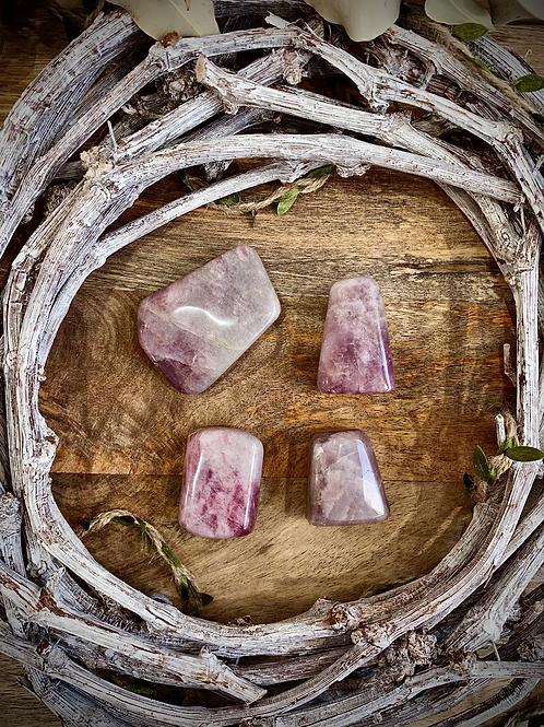 Lavender Rose Quartz Small Freeforms
