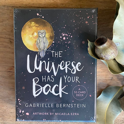 The Universe Has Your Back-52 Oracle Card Deck