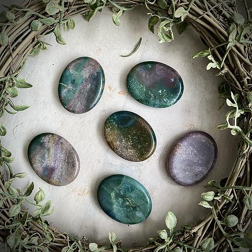 Ocean Jasper Worry Stones (Intuitively Chosen)