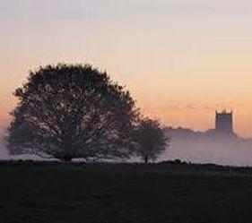 Fakenham in the mist