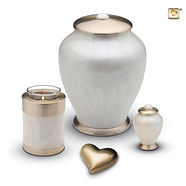 Simplicity collection of ashes containers and keepsakes