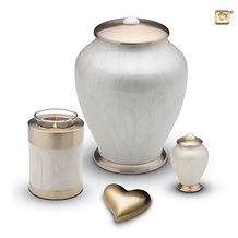 Simplicity collection of ashes containers and keepsakes at Gowards Funeral Services in Fakenham, Norfolk