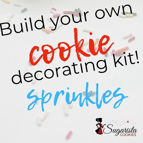Sugar Cookie Decorating Kit - SPRINKLES