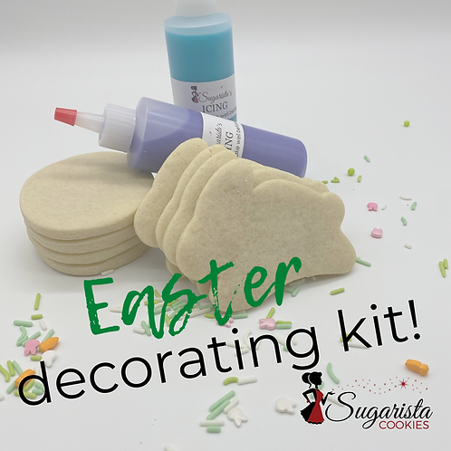 Easter Sugar Cookie Decorating Kit