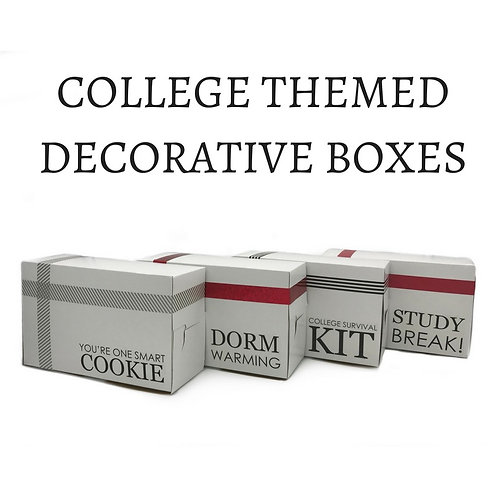 College Themed - Decorative Boxes