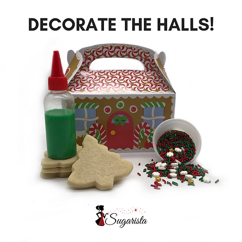 Christmas Sugar Cookie Decorating Kit