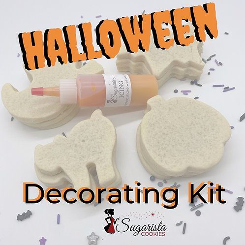 Halloween Sugar Cookie Decorating Kit
