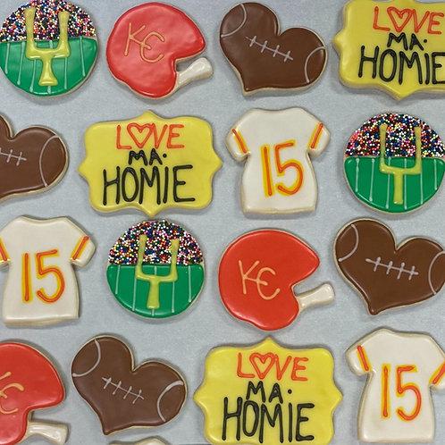 Iced Sugar Cookie (Chiefs)