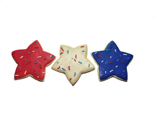 Iced Sugar Cookie (July 4th)