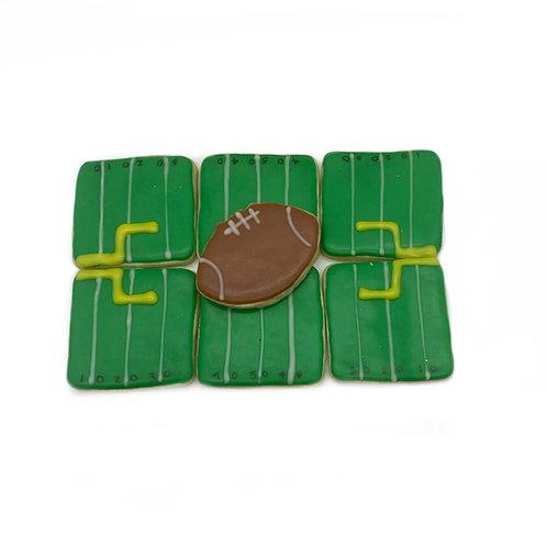 Iced Sugar Cookie (FOOTBALL)