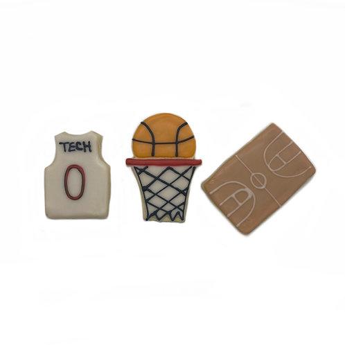 Iced Sugar Cookie (BASKETBALL)