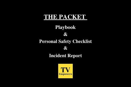 THE PACKET: Combines All 3 Student Safety Information Guides
