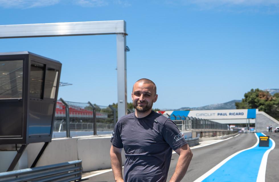 Bojan Kajic, technicien Orchid Racing Team 2019
