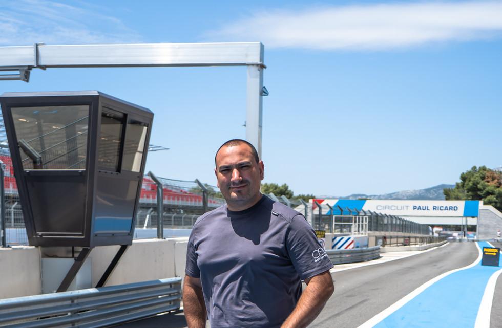 Joao Mendes, Team Principal Orchid Racing Team 2019
