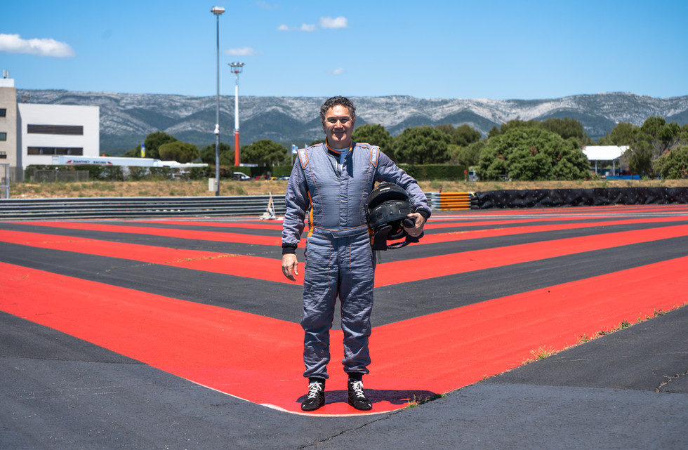 Pierre Mélin, pilote Orchid Racing Team 2019