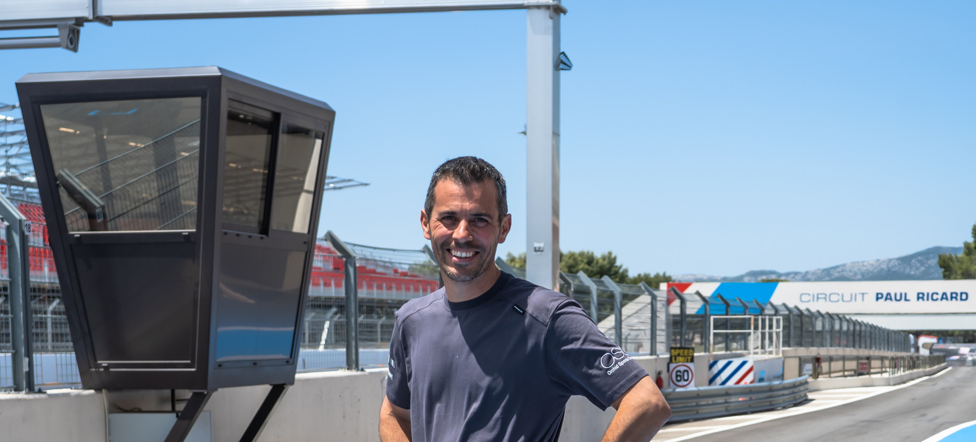 Gérard Mathieux, technicien Orchid Racing Team 2019