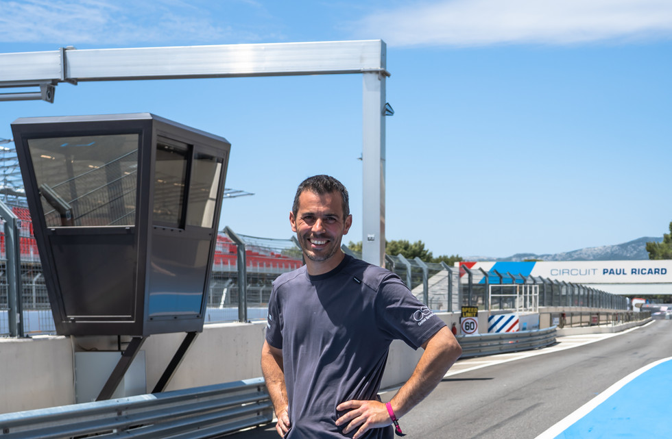 Gérard Mathieux, technicien Orchid Racing Team 2019