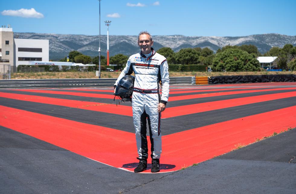 Jean Rémy Roussel, pilote Orchid Racing Team 2019