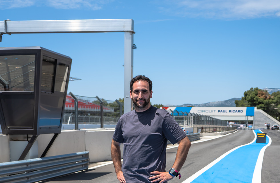 Stéphane Solliard, technicien Orchid Racing Team 2019