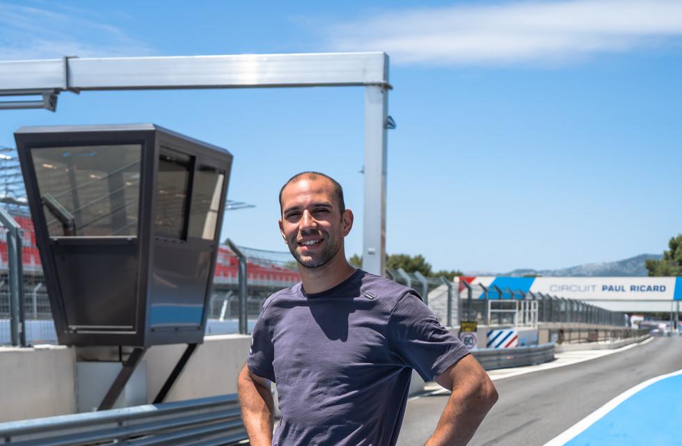Anthony Garro, technicien Orchid Racing Team 2019