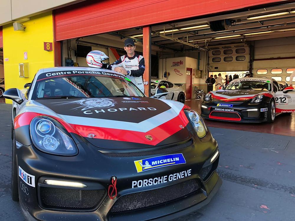 Pilote Porsche Romain Dumas Orchid Racing Team