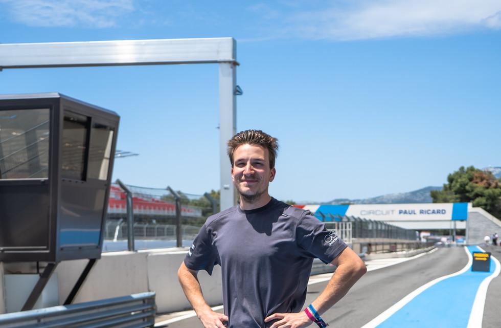 Tom Barraud, technicien Orchid Racing Team 2019