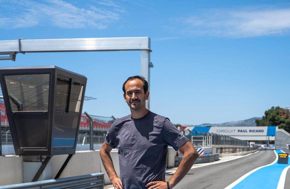Christophe Coelho, Chef Mécanicien Orchid Racing Team 2019