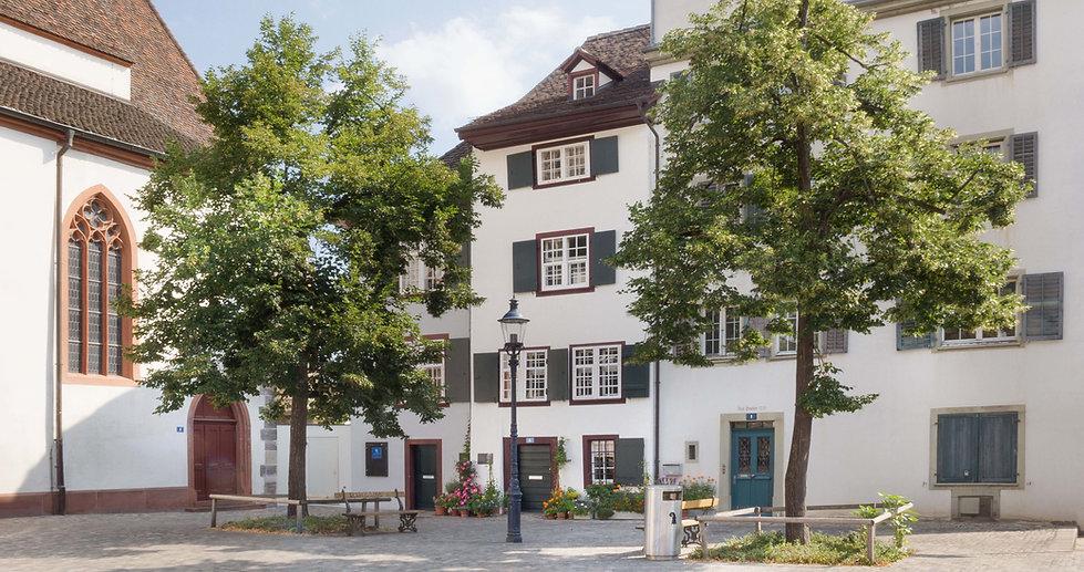 Praxis für Psychotherapie & psychologische Beratung Basel von aussen