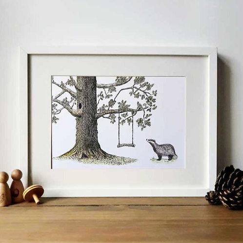 Oak Tree and Brock