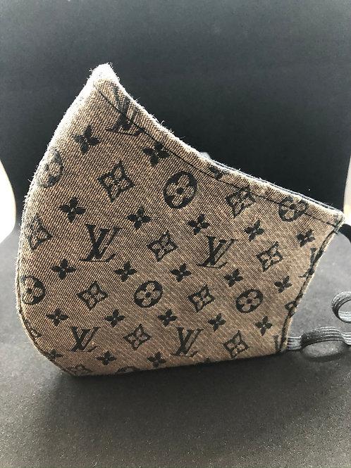Louis Vuitton Brown Face Mask