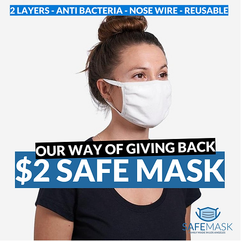 The 2 Dollar Safe Mask
