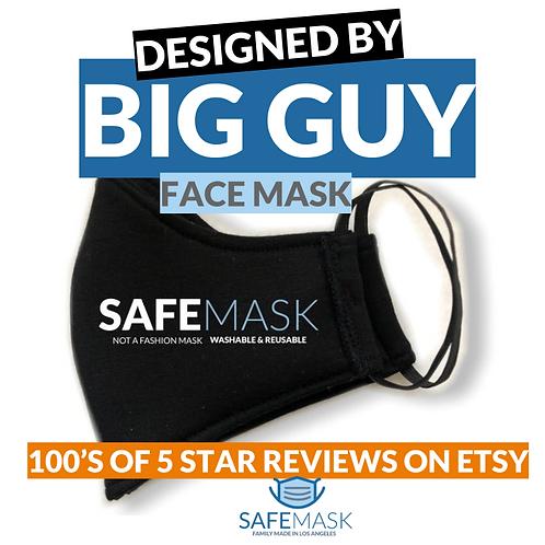 Big Guy Designed Big & Tall XL XXL Large Quality Face Mask