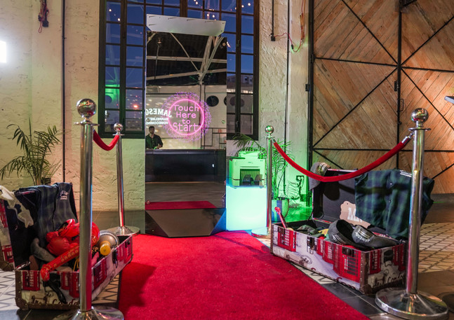 Photo Booth all ready to go!
