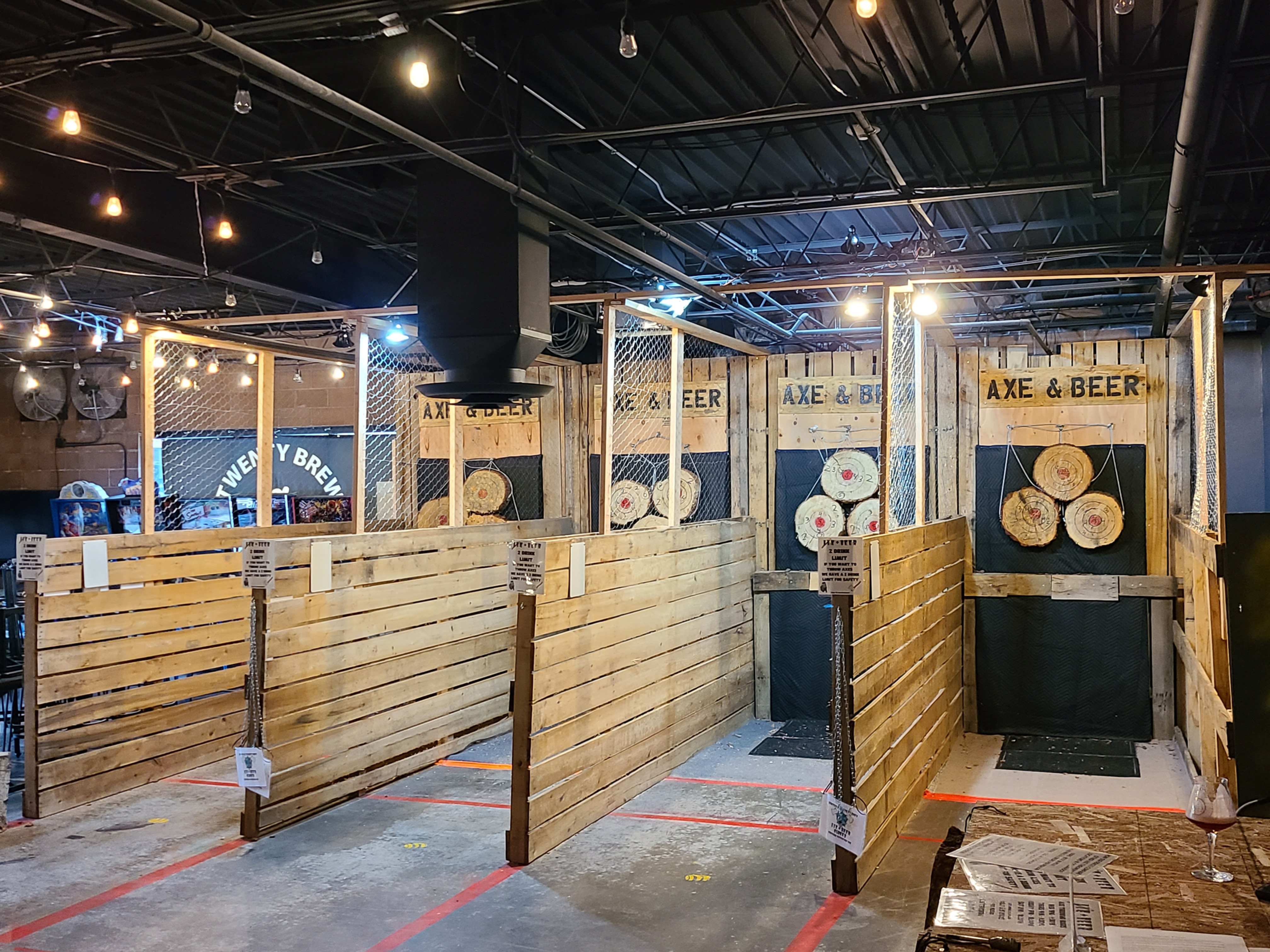 ONLINE RESERVATION FOR AXE THROWING