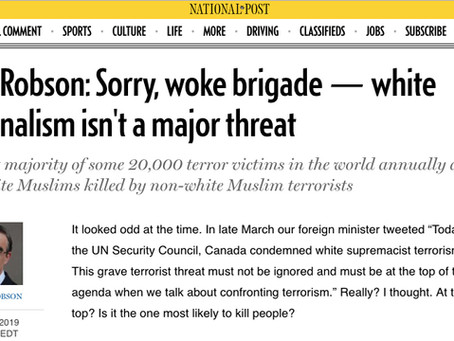 """FACT CHECK: Is White-Nationalist Terrorism """"Not That Big a Problem""""?"""