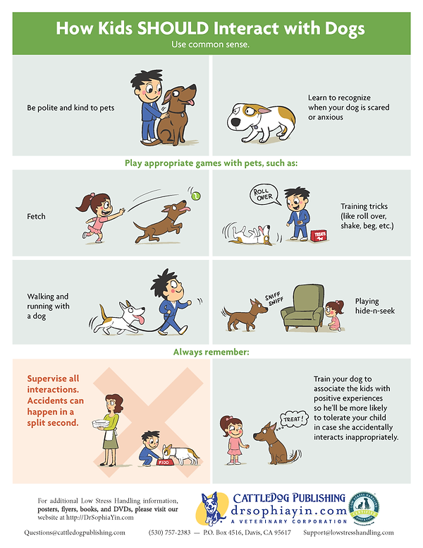 How-Kids-Should-Interact-With-Dogs-Poste