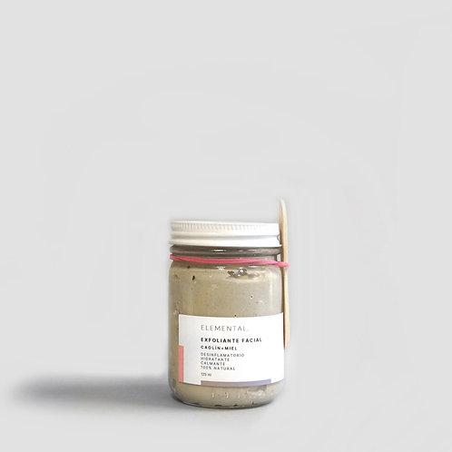 exfoliante facial | arcilla blanca