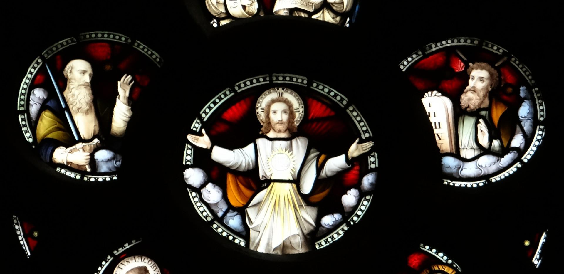 North transept rose window