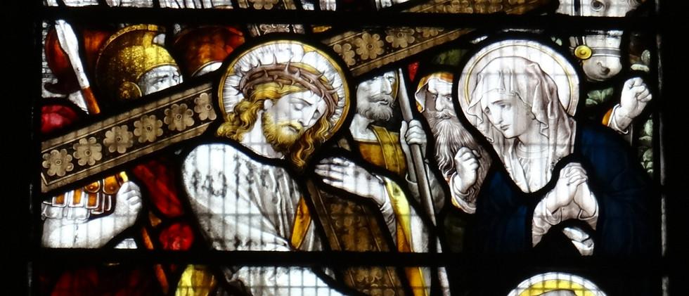 1 of 5 SE Chapel windows