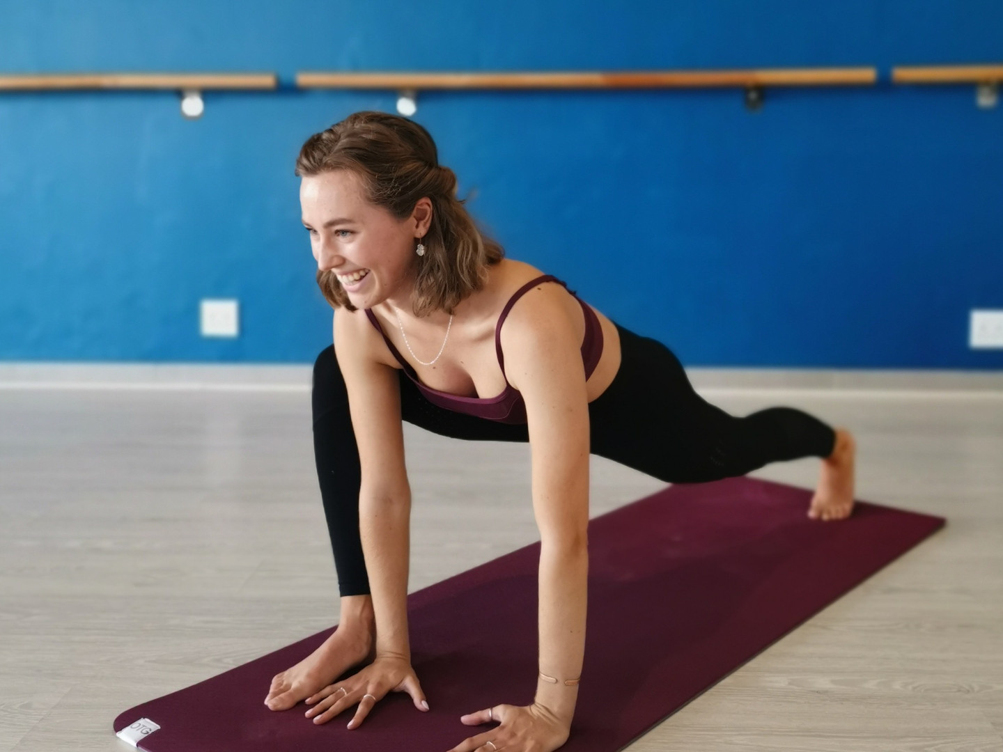 Barre and Pilates instructor, Hannah